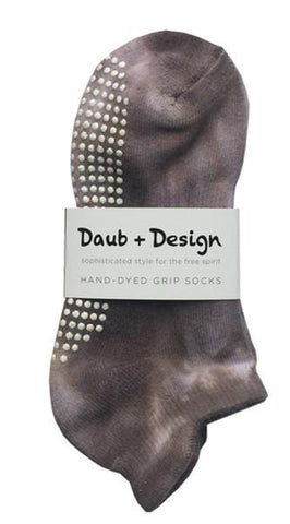 Grippy Sock in Coffee - Daub + Design