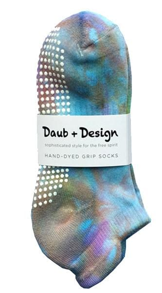 Grippy Sock in Aquatic - Daub + Design
