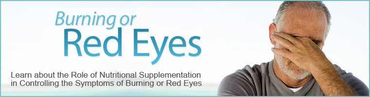 Nutritional Support for Burning Eyes