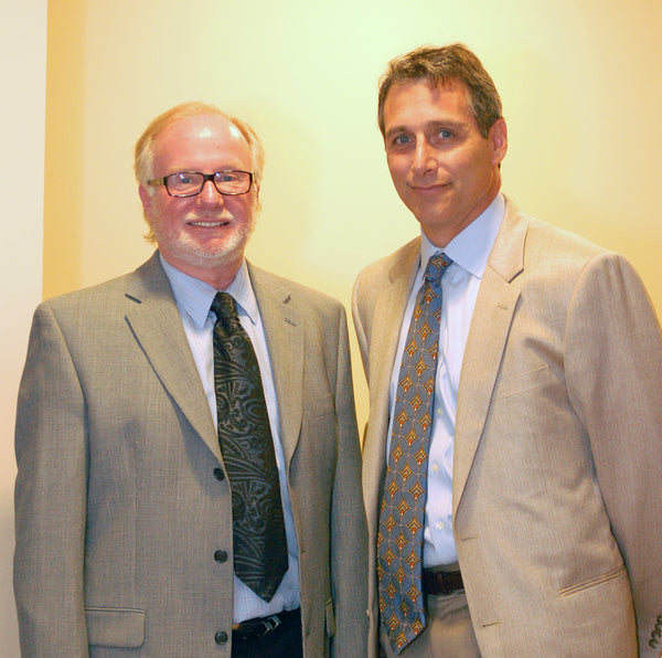 Greg Hines and Dr. Paul Krawitz