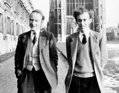 Watson and Crick photo