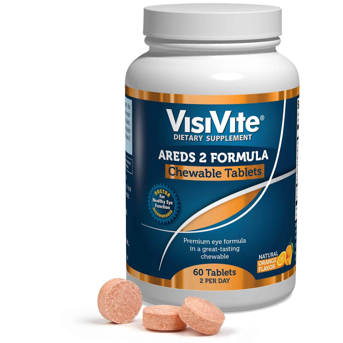 VisiVite Sugar*Free AREDS 2 Chewable Tablets