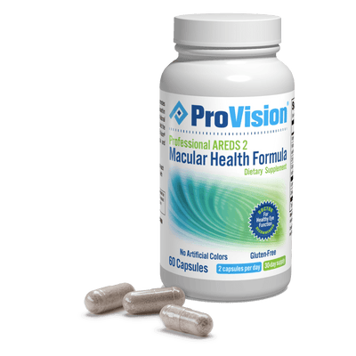 Provision Professional AREDS 2 Macular Health Formula - Information Page