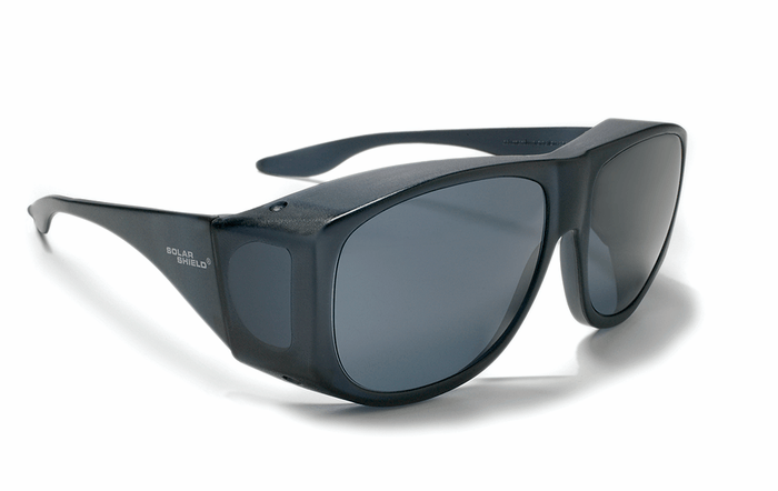 Solar Shield Smoke Sunglasses - Color Correct Glare Reducer