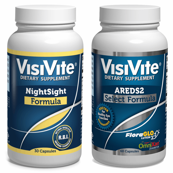 VisiVite NightSight/VisiVite AREDS 2 Select Discount Combo