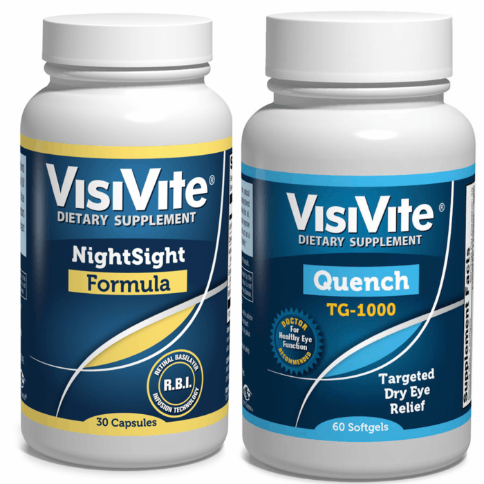 VisiVite NightSight/VisiVite Quench Discount Combo