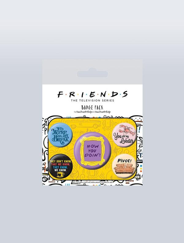 FRIENDS - CONJUNTO DE PINS