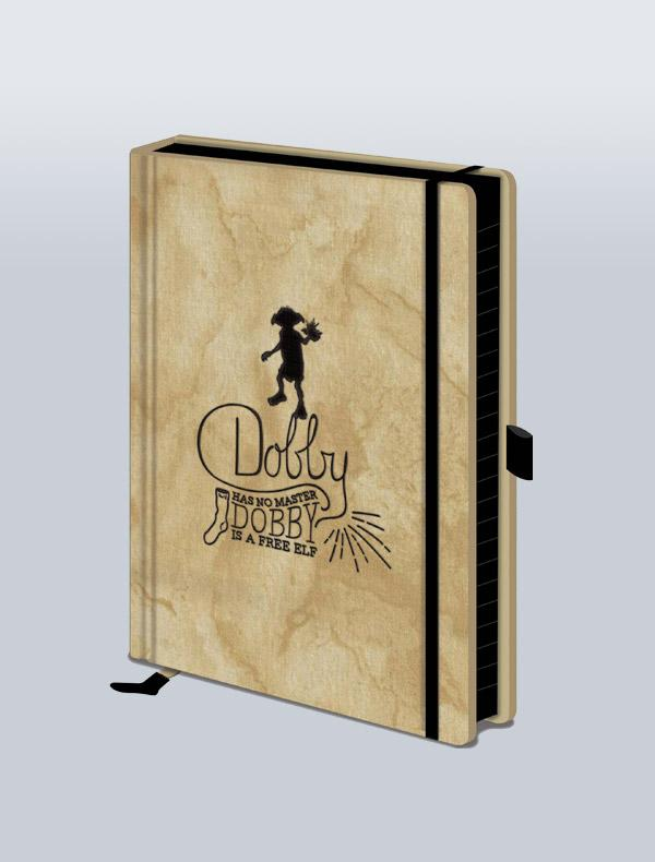 HARRY POTTER - CADERNO PREMIUM A5 DOBBY