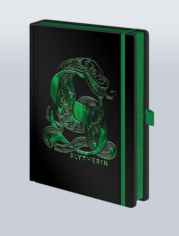 HARRY POTTER - CADERNO PREMIUM A5 SLYTHERIN