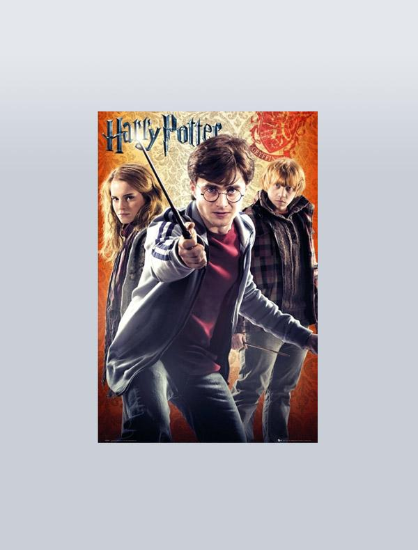 HARRY POTTER - POSTER TRIO