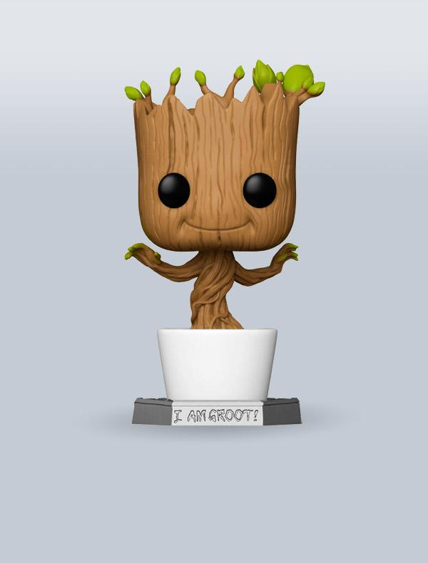 POP! Marvel - Dancing Groot SUPER SIZE 46cm
