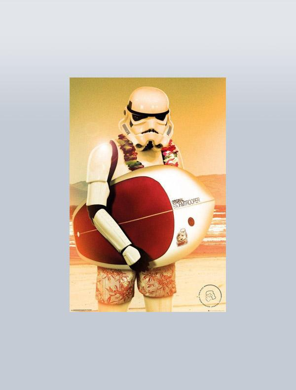 STAR WARS - POSTER STORMTROOPER SURF