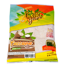 Load image into Gallery viewer, Instayum Frozen Fruits Cassava / Grated Cassava Yucca 1lb (454g)