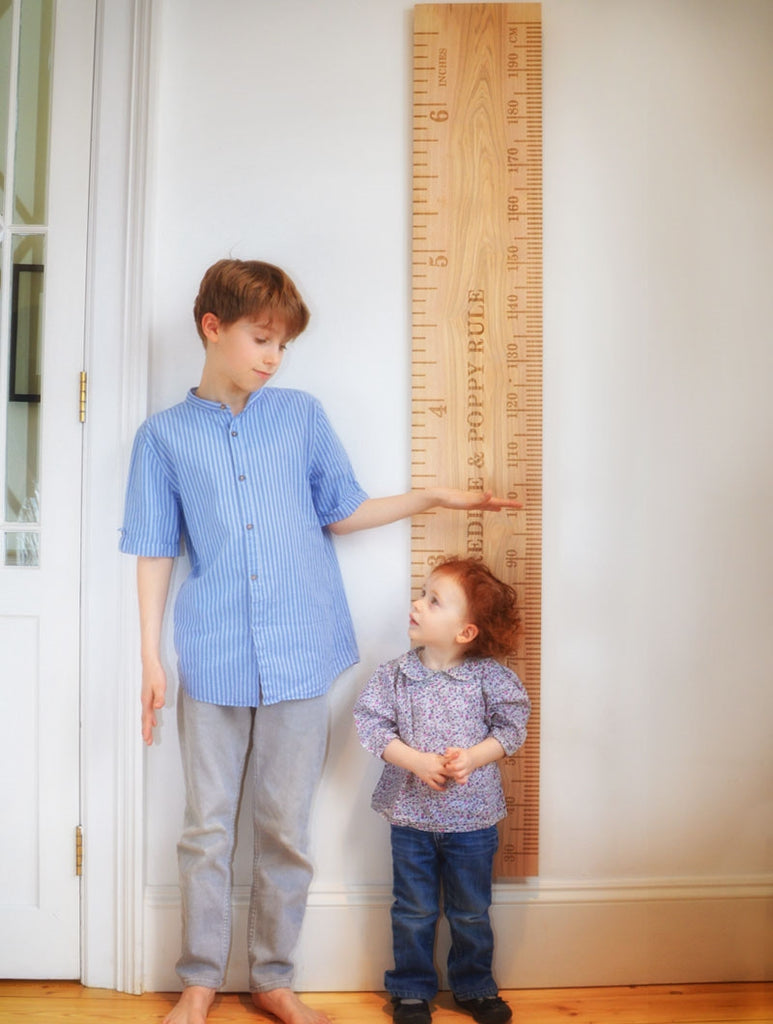 SuperLux Ash Kids School Ruler Height Chart