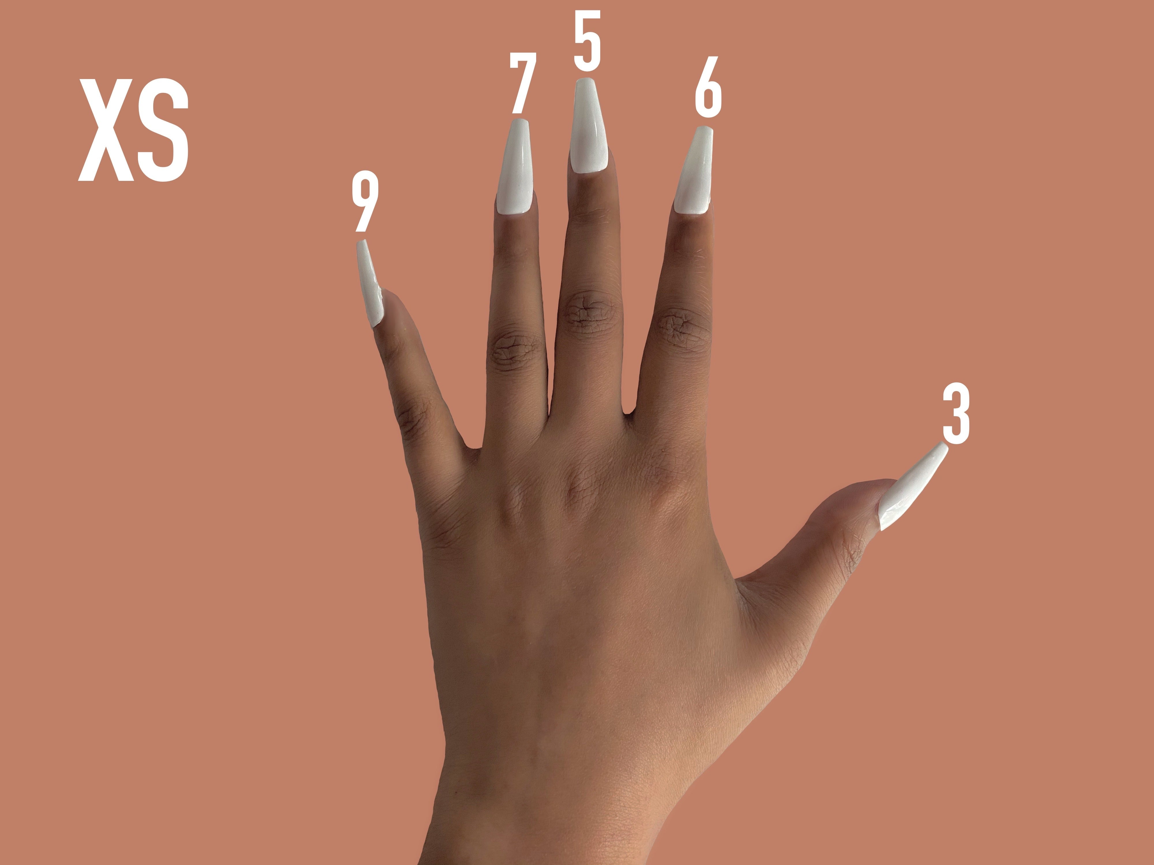 Pure by Nur XS Nail Size