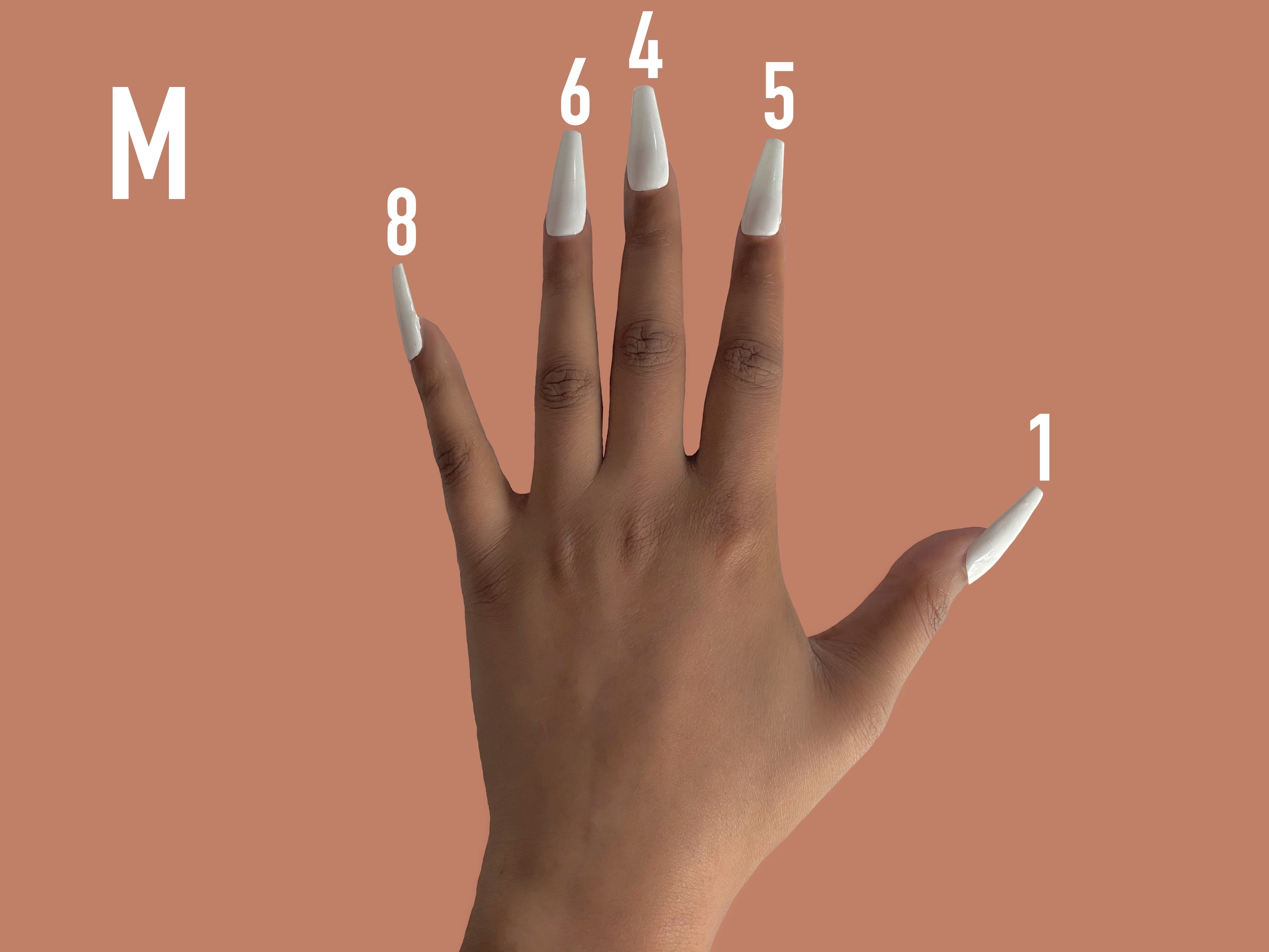 Pure by Nur M Nail Size