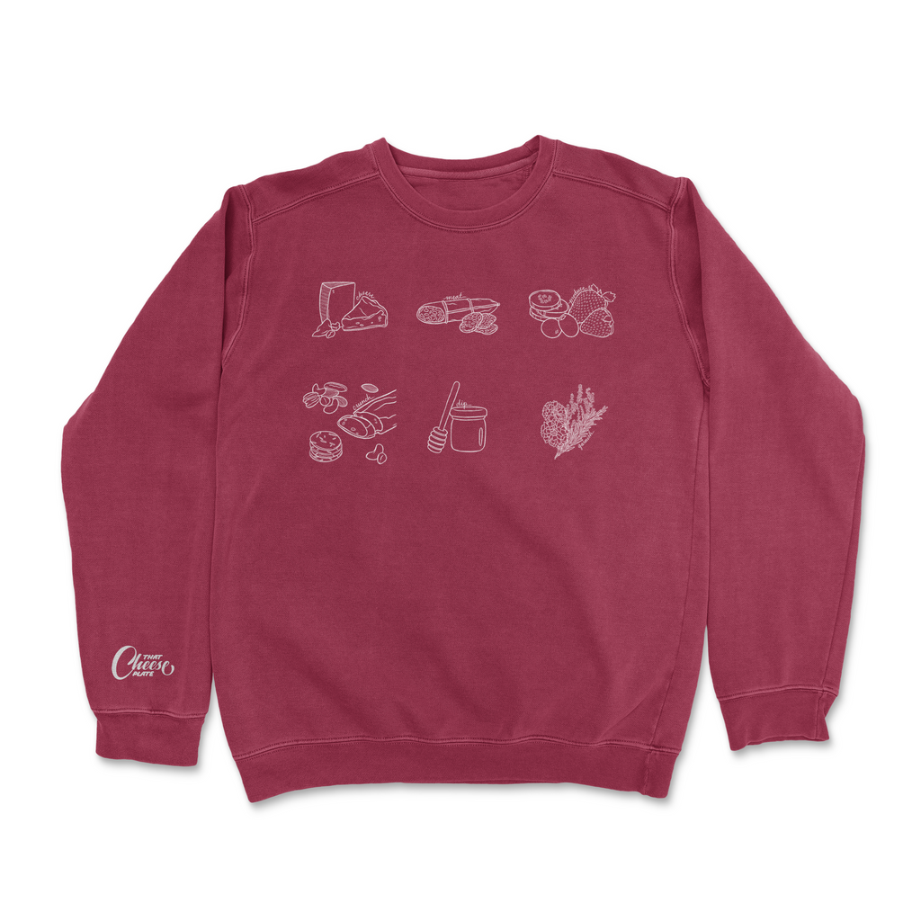That Crew Neck - Cheese By Numbers Edition