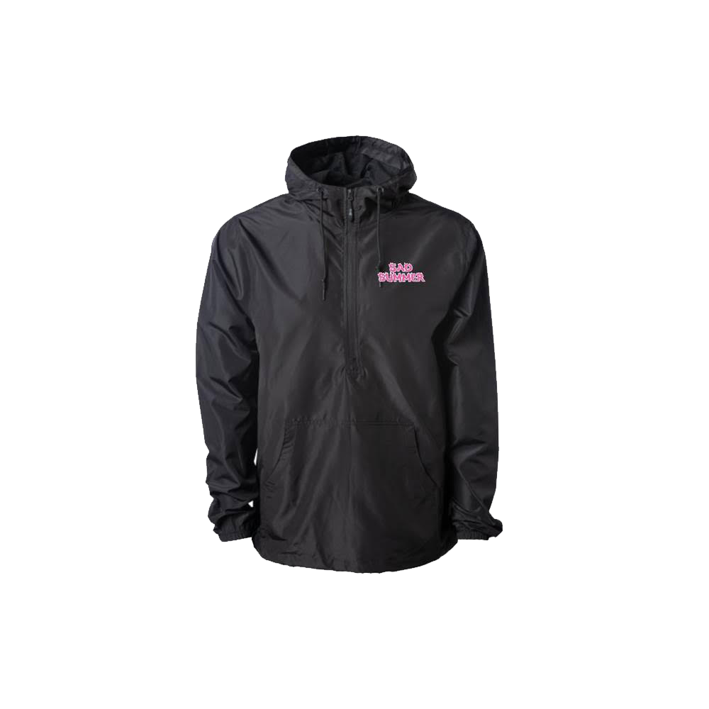 Sad Summer Windbreaker (Black)