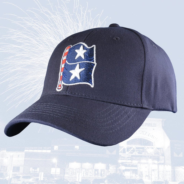 Aberdeen IronBirds Star Spangled Banners Adjustable & Fitted Cap