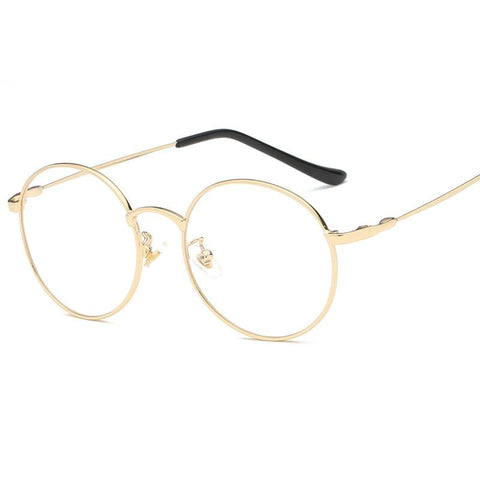 Blue Light Glasses | Retro Gold