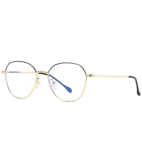 Non Prescription | Blue Light Glasses Black Gold