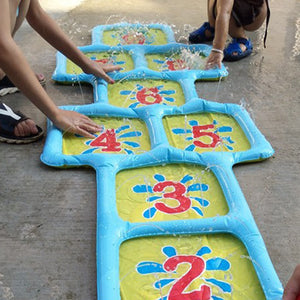 Inflatable Hopscotch Game