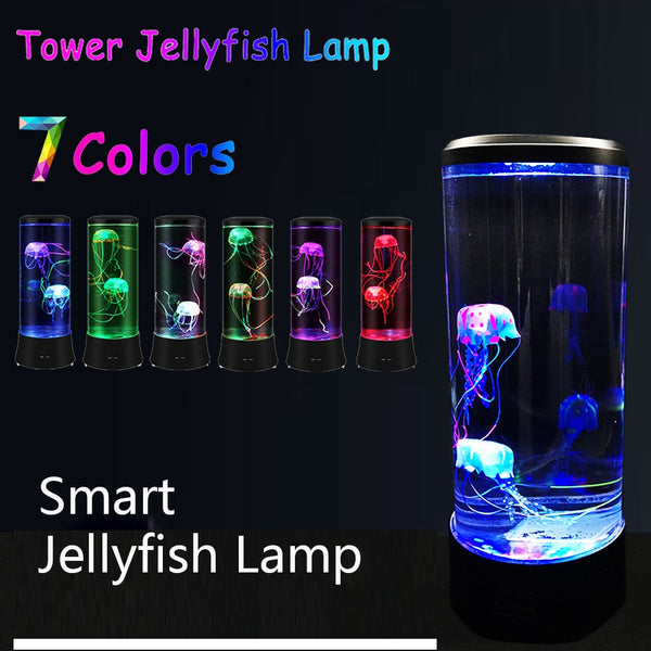 Jellyfish Night Light Lamp