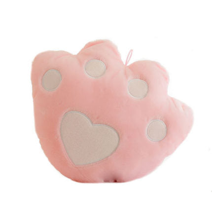 Kids night light Bear Paw Pillow