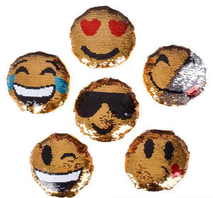 5'' Flip Sequin Emoji Plush
