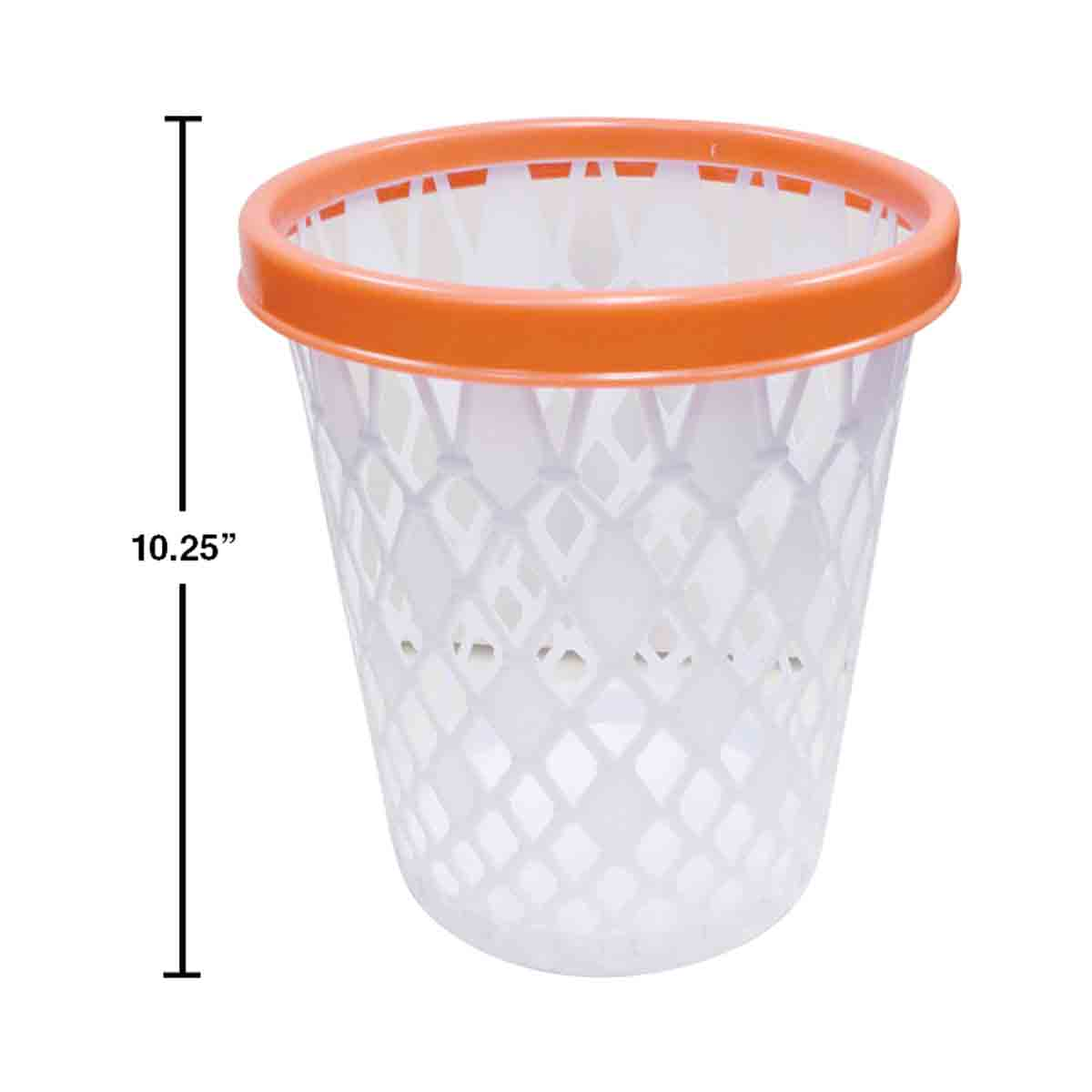 Basketball Net Wastebasket