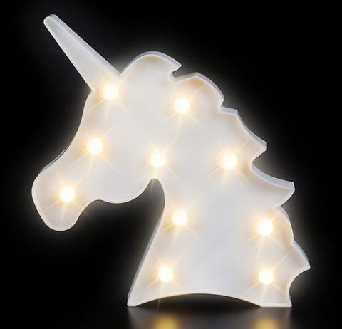 9.75'' Unicorn Marquee