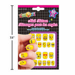 Emoji Nail Tattoos