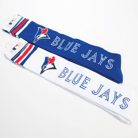 Girls Blue Jays Knee High Socks