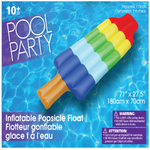 Jumbo Rocket Popsicle Pool Float