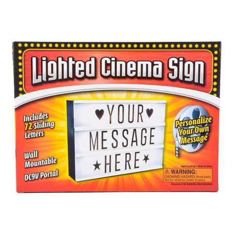 12'' Cinema Light Box