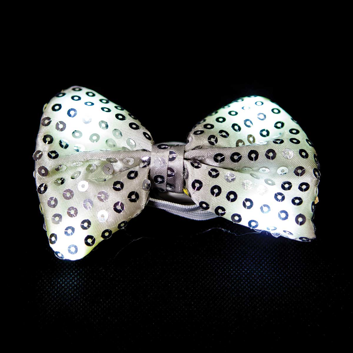Light Up Sequin Bowtie