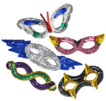 Sequin Masks (12 Pack)