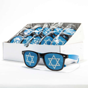 Star of David Sunglasses (12 Pack)