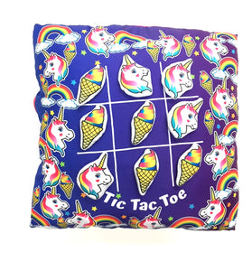 Unicorn Game Time Pillow