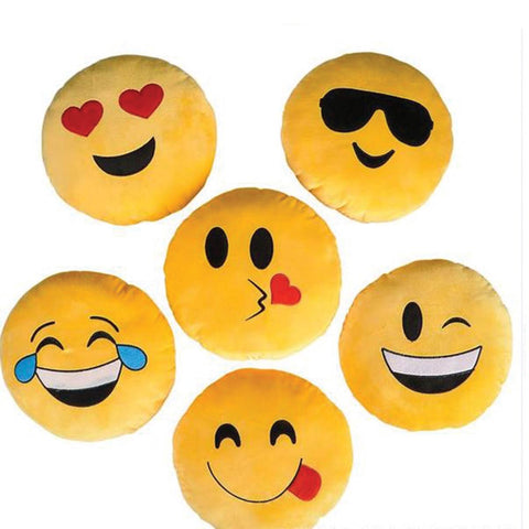 12'' Emoji Pillows