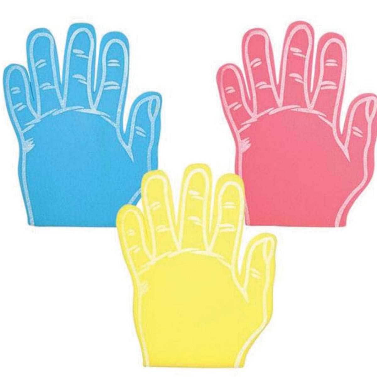 Hi Five Foam Hands