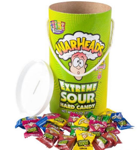Warheads Extreme Sour Candy Paint Can