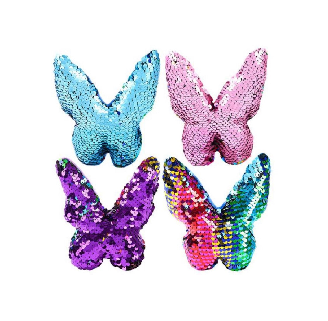 Flip Sequin Butterfly Plush