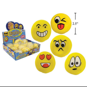 Emoji Stretch Balls
