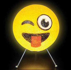 Emoji Sparkle Lamp