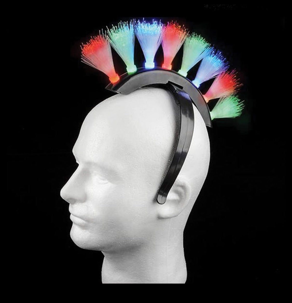 Light Up Mohawk Headband