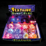Flashing Rings (12 Pack)
