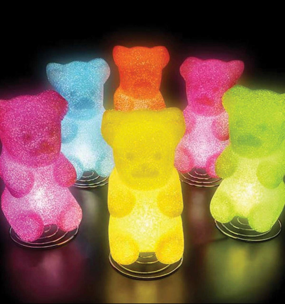 Gummy Bear Sparkle Lamps