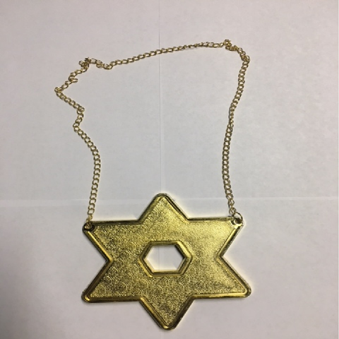 JEWCHAINZ- Star of David- Gold