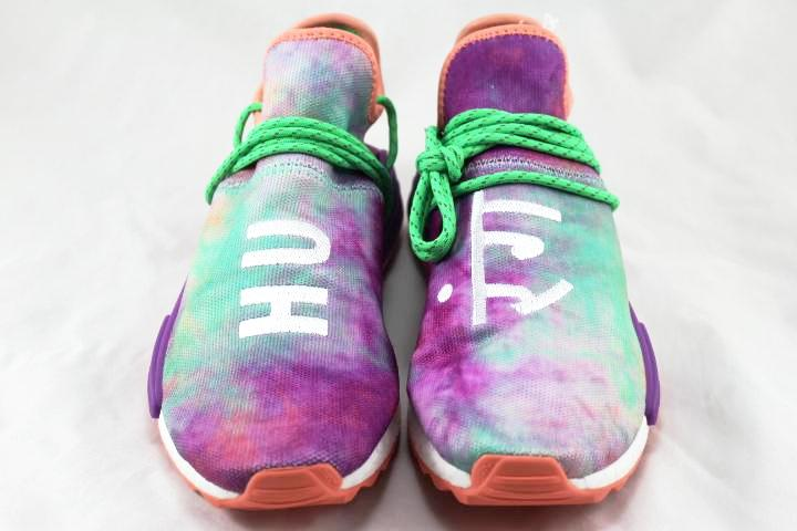 b8a21665a00418 ... coupon code pharrell x adidas human race nmd holi festival chalk coral  elusive soles 8859c d5811